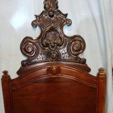 Antigüedades: PRECIOSA CAMA DEL SIGLO XIX DE CASA PALACIO #. Lote 102687667