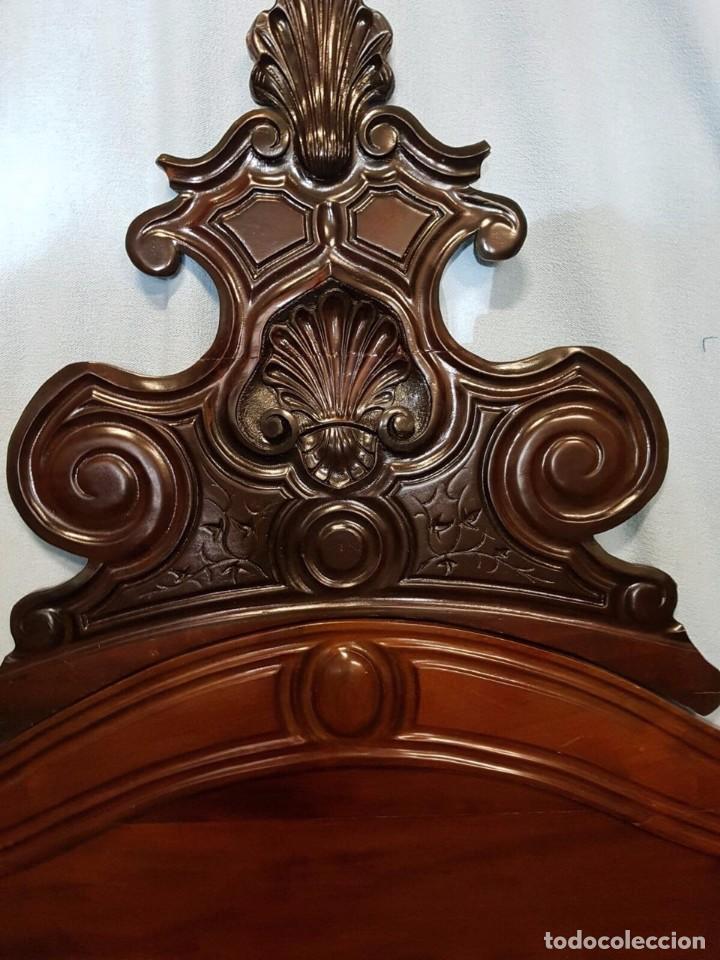 Antigüedades: Preciosa cama del siglo XIX de casa palacio # - Foto 4 - 102687667