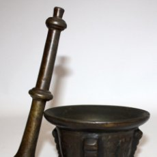 Antigüedades: ANTIGUO ALMIREZ DE LA 1ª MITAD DEL SIGLO XVII . MORTERO. Lote 102691215