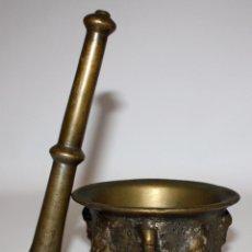 Antigüedades: ANTIGUO ALMIREZ DEL SIGLO XVII . MORTERO. Lote 102692175