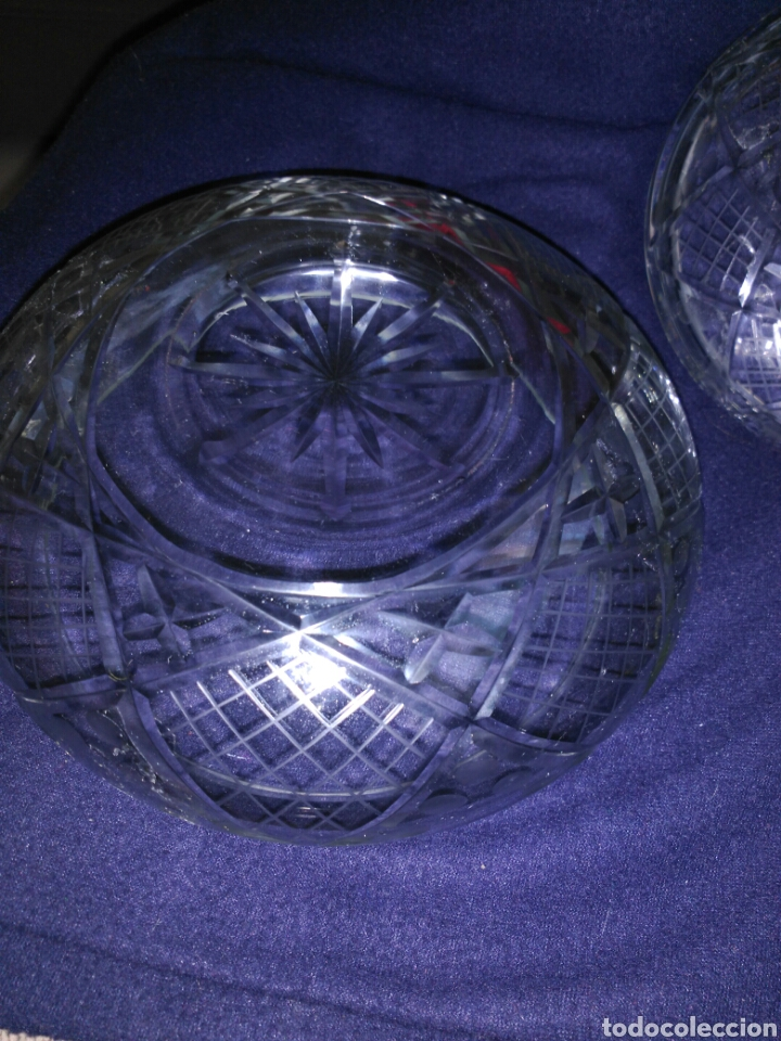 Antigüedades: Bombonera cristal de bohemia - Foto 3 - 102701778