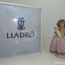 Antigüedades: LLADRO: AGUADORA CORINTIA (ROSA). ESCULTOR: JOSE PUCHE. CAJA ORIGINAL, NUEVA, A ESTRENAR!. Lote 102702415