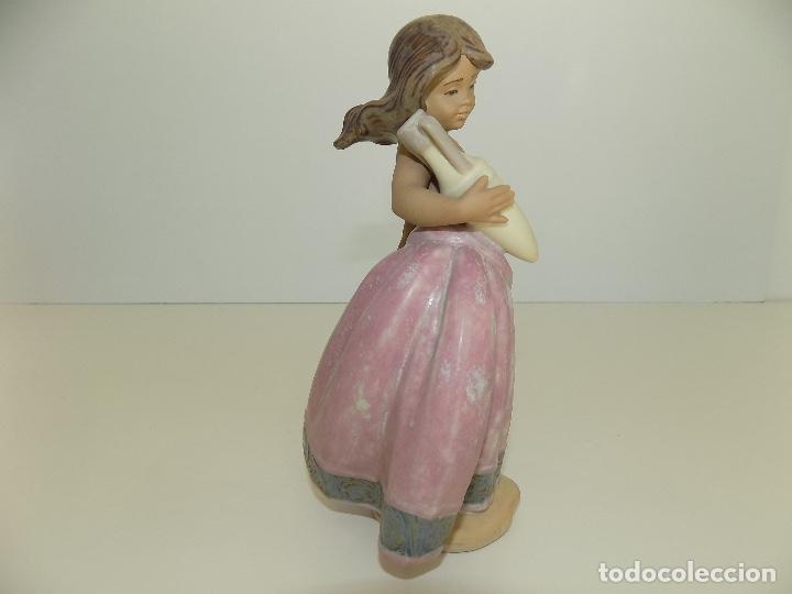Antigüedades: Lladro: Aguadora Corintia (rosa). Escultor: Jose Puche. Caja Original, Nueva, a estrenar! - Foto 4 - 102702415