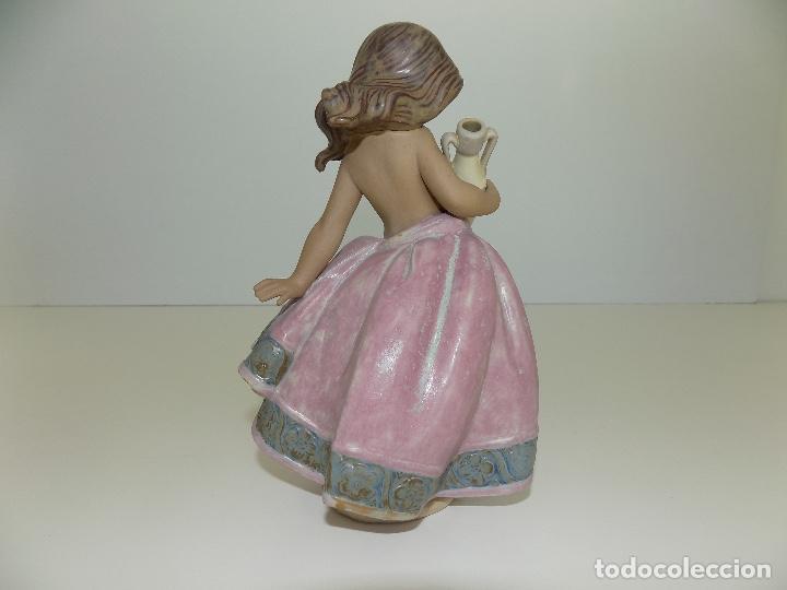 Antigüedades: Lladro: Aguadora Corintia (rosa). Escultor: Jose Puche. Caja Original, Nueva, a estrenar! - Foto 5 - 102702415
