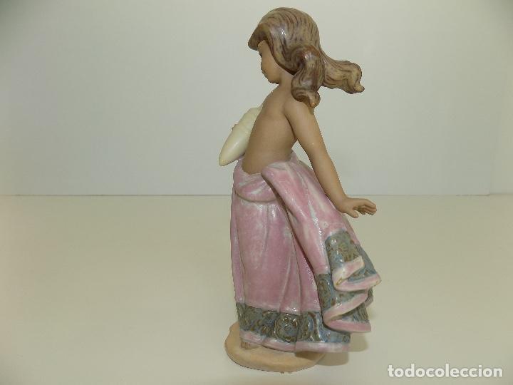 Antigüedades: Lladro: Aguadora Corintia (rosa). Escultor: Jose Puche. Caja Original, Nueva, a estrenar! - Foto 7 - 102702415