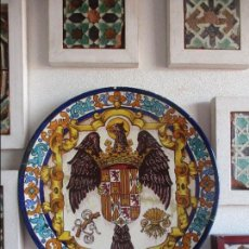 Antigüedades: PLATO PINTADO VIGIL ESCALERA. RAMOS REJANO. Lote 102736371