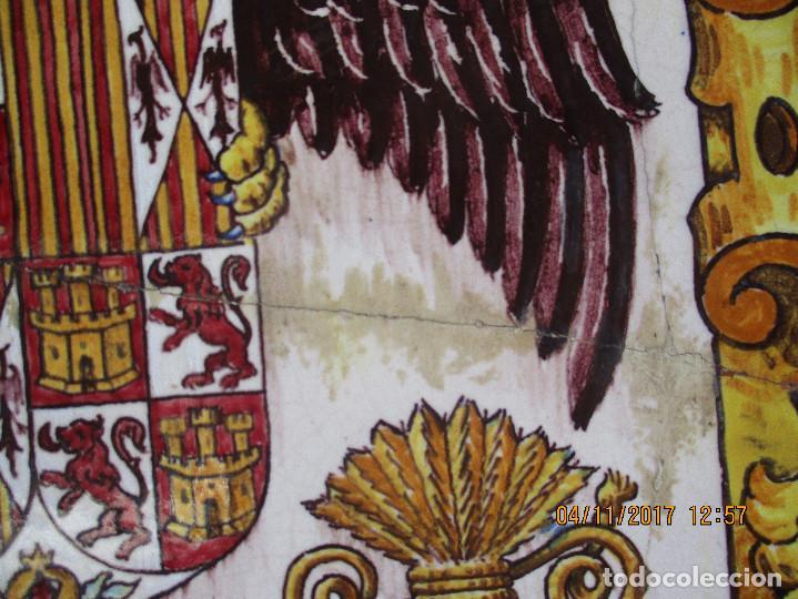 Antigüedades: Plato pintado Vigil Escalera. Ramos Rejano - Foto 3 - 102736371