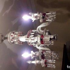Antiguidades: LAMPARA TECHO CRISTAL BACCARAT. Lote 102736563
