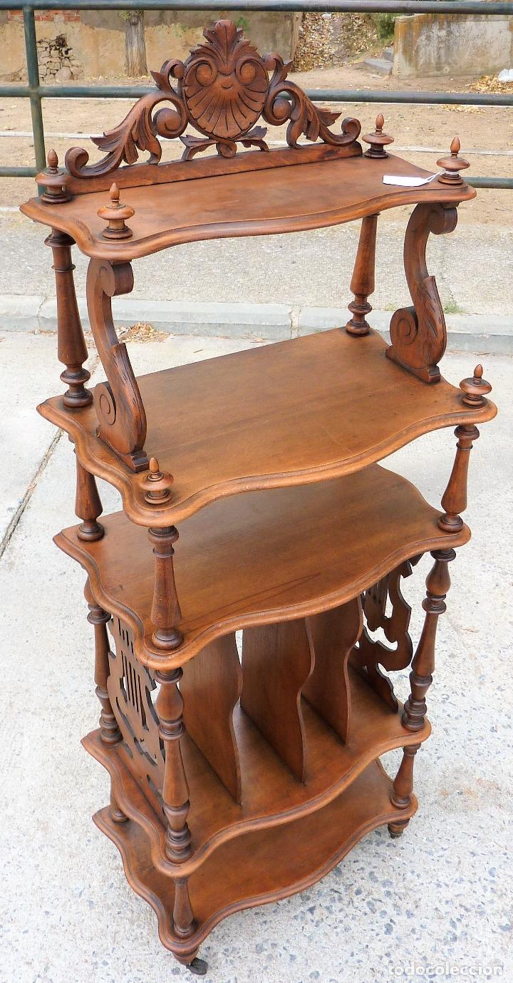 Antiguo Mueble Estanter A Musiquero Del Siglo X Comprar Muebles  # Muebles Musiqueros Antiguos