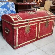 Antigüedades: ARCÓN GRAN TAMAÑO ANTIGUO IGLESIA, ARCA ANTIGUA CAPILLA, BAÚL ANTIGUO SACRISTÍA. ARCA CAJA DE NOVIA.. Lote 102741791