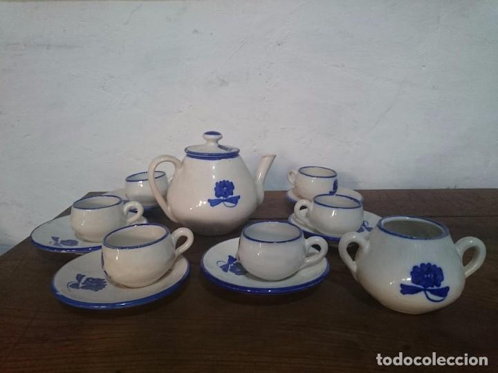 JUEGO DE CAFE (Antigüedades - Porcelanas y Cerámicas - Puente del Arzobispo )