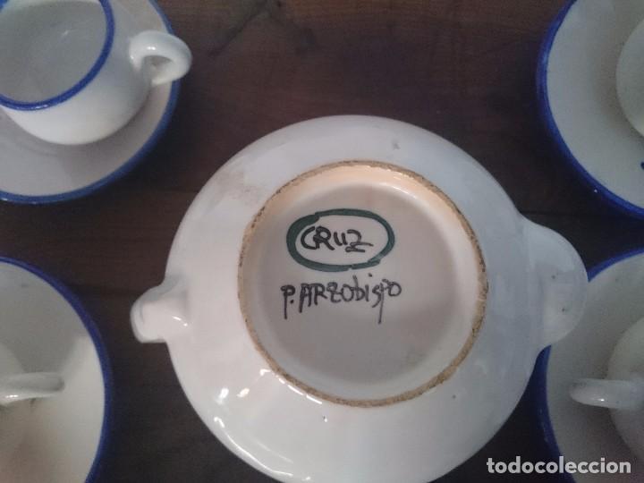 Antigüedades: juego de cafe - Foto 2 - 102743651