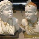 Antigüedades: PAREJA DE AFRICANOS. Lote 102818759