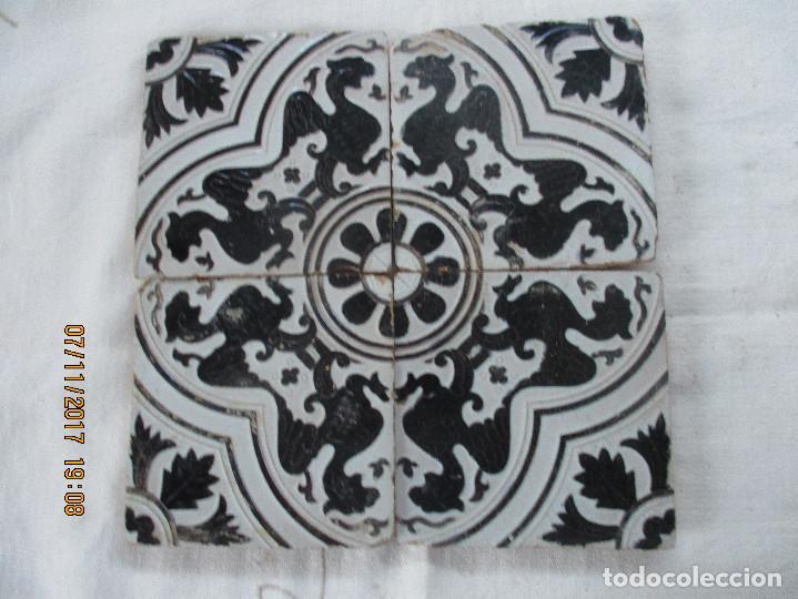 AZULEJOS MENSAQUE (TRIANA) (Antigüedades - Porcelanas y Cerámicas - Azulejos)
