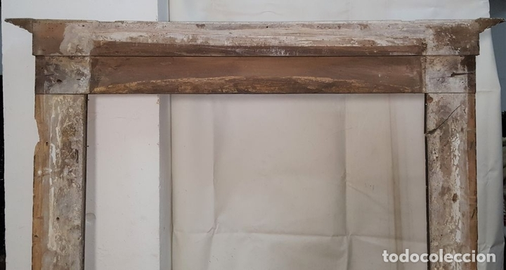 Antigüedades: ANTIGUO MARCO. MADERA DE NOGAL. ESTILO BARROCO. ESPAÑA. SIGLO XVIII. - Foto 10 - 102955639