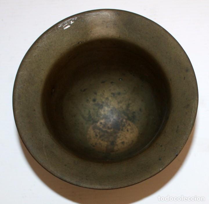 Antigüedades: ANTIGUO ALMIREZ EN BRONCE DE FINALES DEL S.XVII - PRINCIPIOS DEL S.XVIII. MORTERO - Foto 4 - 103040891