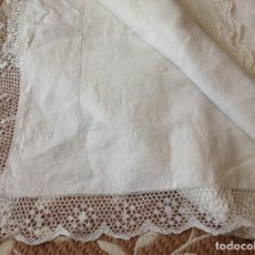 Antigüedades: SABANA ANTIGUA DE HILO. SIGLO XIX. Lote 103059643