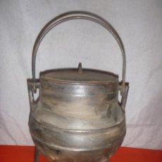 Antigüedades: POTE GALLEGO HIERRO FUNDIDO 6 L.. Lote 103078159