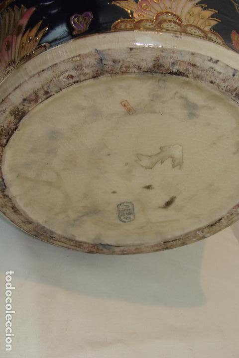 Antigüedades: Jarrón de porcelana Satsuma - Siglo XX - Foto 4 - 103123195