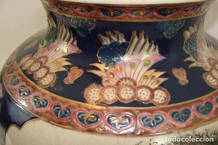 Antigüedades: Jarrón de porcelana Satsuma - Siglo XX - Foto 7 - 103123195
