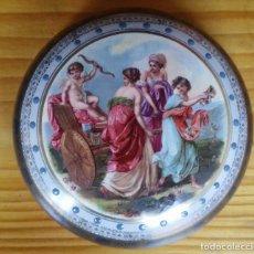 Antigüedades: CAJA PORCELANA DECORADA. Lote 103130751