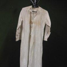 Antigüedades: CAMISON HILO FINES XIX. Lote 103150243