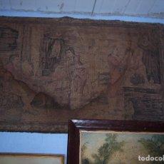 Antigüedades: TAPIZ DE 1M X 0,55. Lote 103154263