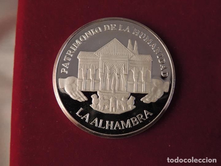 Antigüedades: ESTUCHE CON SEIS MONEDAS DE PLATA 999 CONMEMORATIVAS - Foto 5 - 103155343