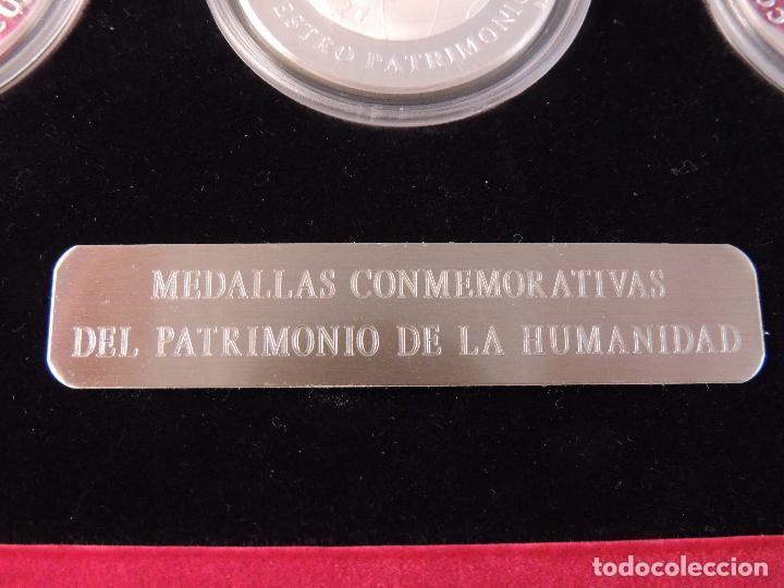 Antigüedades: ESTUCHE CON SEIS MONEDAS DE PLATA 999 CONMEMORATIVAS - Foto 13 - 103155343