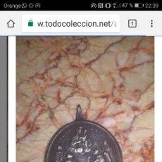 Antigüedades: MEDALLA DE BRONCE. Lote 103160943