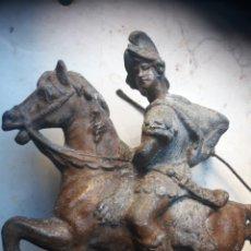 Antigüedades: SAN JORGE O SOLDADO METAL. Lote 103207399