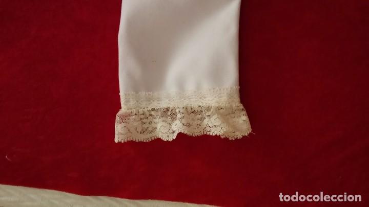 Antigüedades: Preciosa enaguas virgen 60 cm 70cm - Foto 2 - 103208943