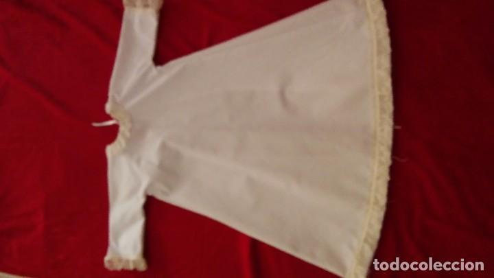 Antigüedades: Preciosa enaguas virgen 60 cm 70cm - Foto 5 - 103208943