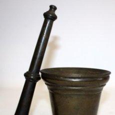 Antigüedades: ANTIGUO ALMIREZ EN BRONCE DE PRINCIPIOS DEL S.XVIII. MORTERO. Lote 103255543