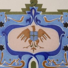 Antigüedades: AZULEJO MODERNISTA VALENCIANO. Lote 103293163