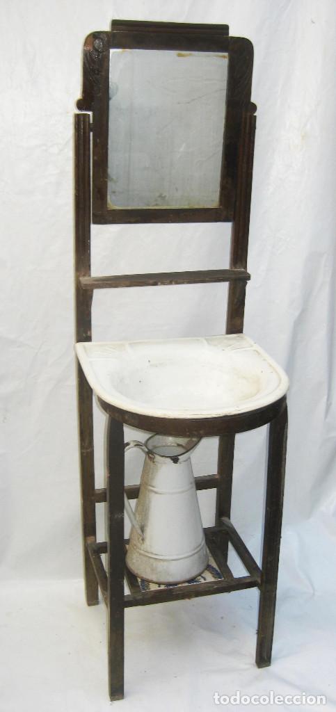 Mueble ba o antiguo habitacion con pila porcela comprar - Muebles bano antiguos ...
