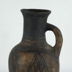 Antigüedades: JARRA EN CERÁMICA CATALANA PINTADA FINAL SIGLO XX. Lote 103320363