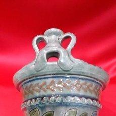 Antigüedades: SALERO DE CERÀMICA. PIEZA DE AUTOR.... VILA CLARA - BISBAL -. Lote 103337459