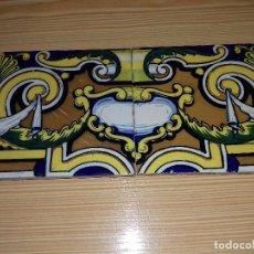 Antigüedades: PAREJA DE AZULEJOS MODERNISTAS.. Lote 103342599