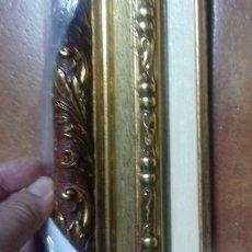 Antigüedades: MARCO EXCEPCIONAL. PARA 24X19. NUEVO A ESTRENAR. ORNAMENTADA. INCLUYE COMPLEMENTO INTERIOR.. Lote 100997819