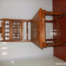 Antigüedades: SILLAS DE MADERA TALLADA. Lote 103363979