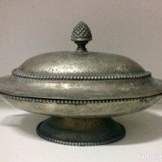 Antigüedades: SOPERA PLATEADA, DE MITAD DEL SIGLO XX. Lote 103386244