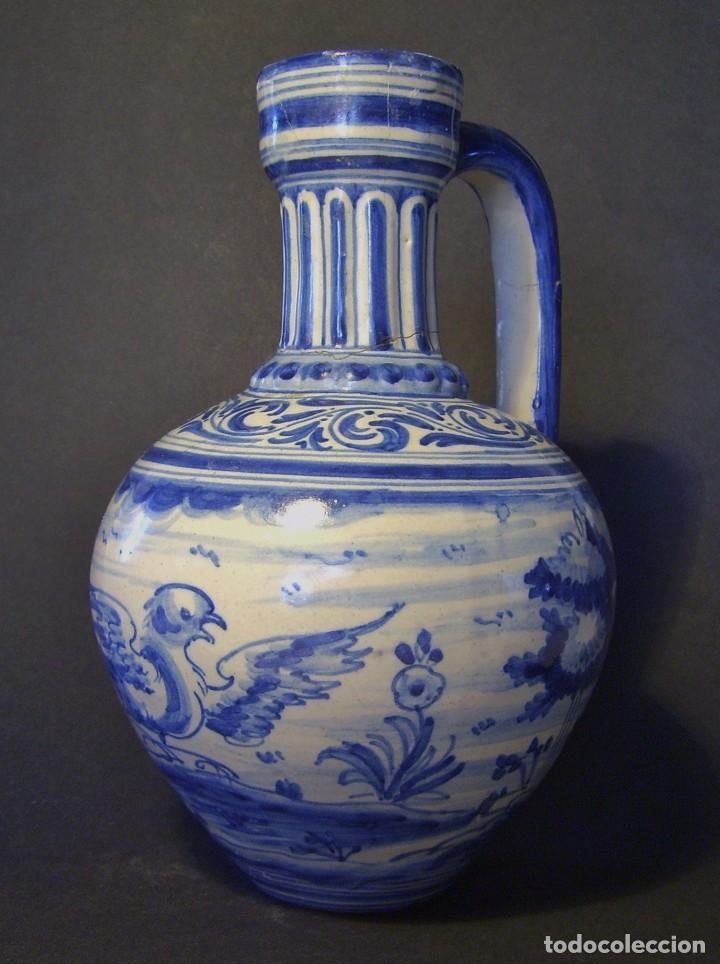Antigüedades: JARRA CERÁMICA DE TALALAVERA XIX ( JUAN RUIZ DE LUNA ) - Foto 4 - 197039871