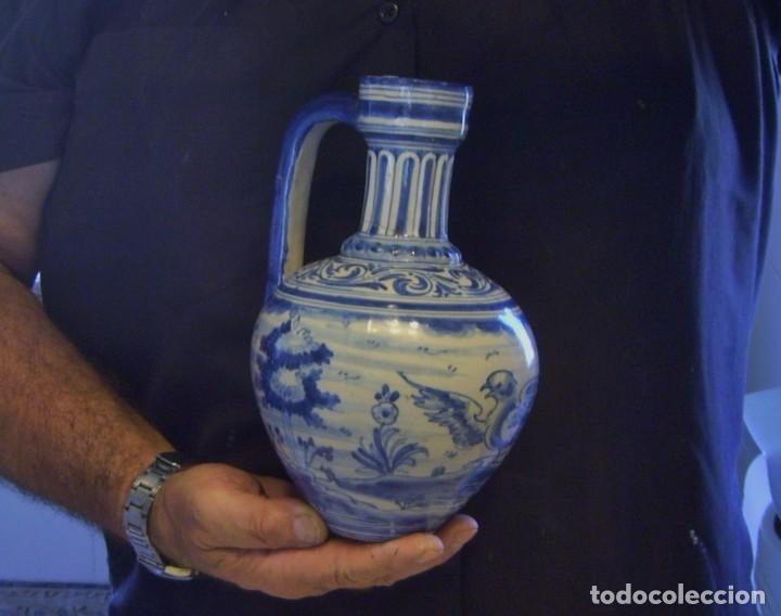 Antigüedades: JARRA CERÁMICA DE TALALAVERA XIX ( JUAN RUIZ DE LUNA ) - Foto 12 - 197039871