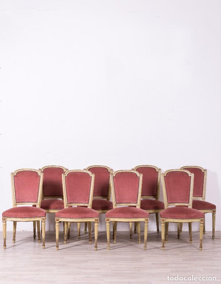 Juego de sillas antiguas luis xvi comprar sillas - Sillas antiguas de segunda mano ...