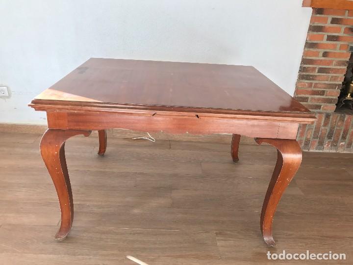 mesa comedor extensible - Comprar Mesas Antiguas en todocoleccion ...