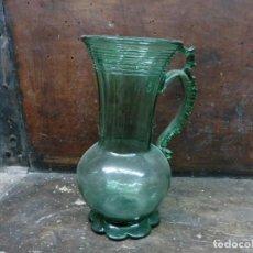 Antigüedades: JARRA DE CRISTAL MAYORQUINA DE LOS AÑOS 30. Lote 103409187