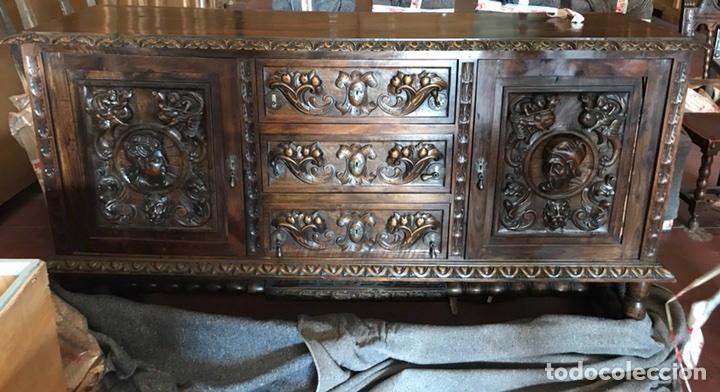 muebles comedor mesa-aparador-sillas y cuadro - Kaufen Antike Tische ...