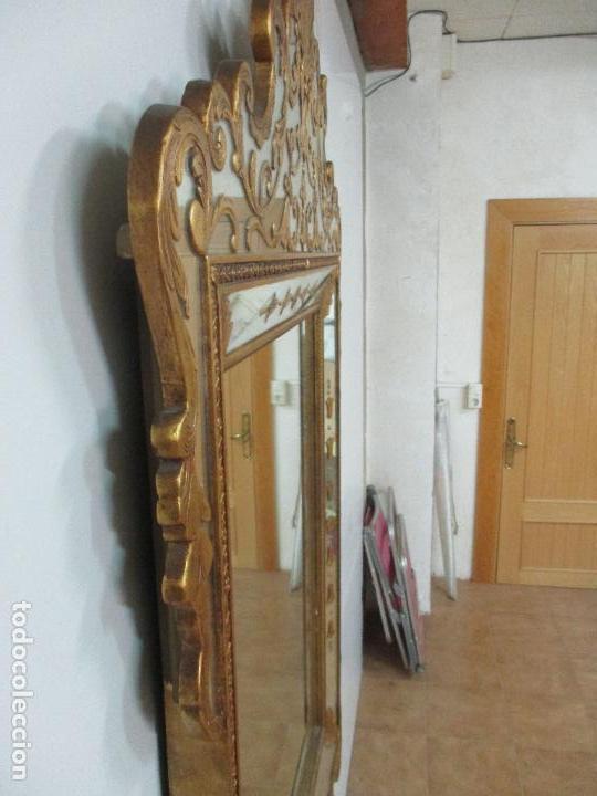 Antigüedades: Espejo Veneciano - Madera Tallada y Dorada - Composición con Espejos - Principios S. XX - Foto 24 - 103412523