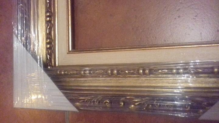 Antigüedades: MARCO EXCEPCIONAL. PARA 24x19. NUEVO A ESTRENAR. ORNAMENTADA. INCLUYE COMPLEMENTO INTERIOR. - Foto 7 - 100997819
